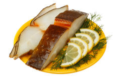 Halibut fish Stock Photos