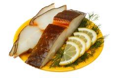 Halibut fish Stock Photos