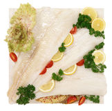 Halibut, sea fish Royalty Free Stock Photography