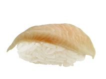 Halibut sushi Stock Image
