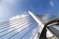 从Halic地铁桥梁的细节 免版税库存照片