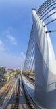 从Halic地铁桥梁的细节 免版税库存图片