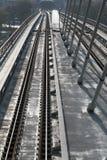 从Halic地铁桥梁的细节 库存图片