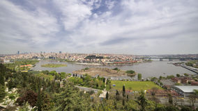 Halic (Golden Horn), Istanbul, Turkey Royalty Free Stock Images
