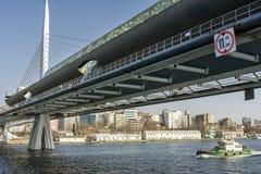 Halic Metro Bridge Stock Photography