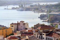 Halic Shipyard Area Royalty Free Stock Image