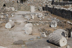 Halicarnassus的陵墓 免版税图库摄影