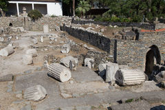 Halicarnassus的陵墓 库存图片