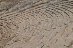 Halicarnassus,现在博德鲁姆古老剧院的废墟  库存图片