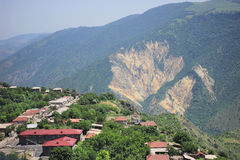 Halidzor village Stock Photo