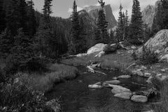 Haliett峰顶,洛矶山国家公园10 库存照片