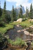 Haliett峰顶,洛矶山国家公园11 免版税库存图片