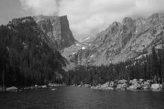 Haliettpiek, Rocky Mountain National Park 3 Royalty-vrije Stock Foto's
