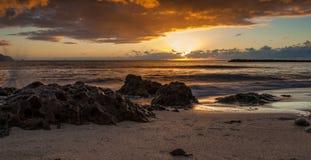 Haliewa Oahu Hawaii Arkivfoto