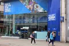 Halifax bank Zdjęcia Royalty Free