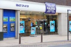 Halifax bank royalty free stock photos