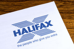 Halifax Bank logo Royaltyfria Bilder