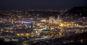 Halifax bij nacht Royalty-vrije Stock Afbeeldingen