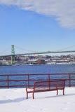 Halifax Bridge Stock Image