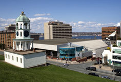 Halifax Citadel Clock Tower Stock Photo