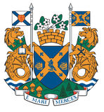 Halifax coat of arms Royalty Free Stock Photo