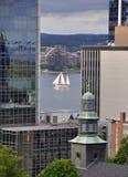 Halifax da baixa Fotos de Stock Royalty Free