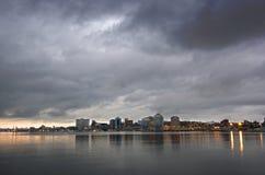 Halifax in de ochtend Royalty-vrije Stock Afbeeldingen