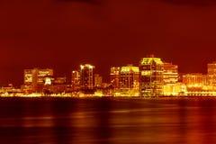 Halifax de stad in Stock Afbeeldingen