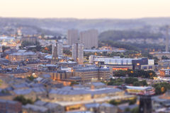 Halifax at dusk Stock Image