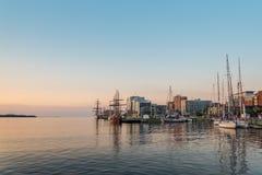 Halifax en la madrugada Foto de archivo