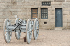 Halifax fort Stock Photo