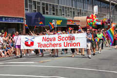 Halifax Gay Pride Parade Stock Image