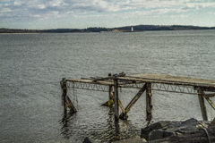 Halifax hamn Royaltyfria Foton