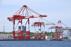Halifax hamn Royaltyfri Fotografi