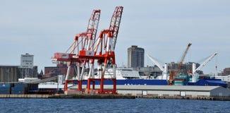 Halifax hamn Arkivbild