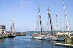 Halifax hamn, Kanada Royaltyfria Bilder