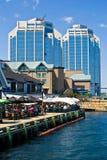 Halifax harbour. Front, Halifax, Nova Scotia royalty free stock photos