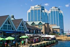 Halifax harbour. Front, Halifax, Nova Scotia royalty free stock photo