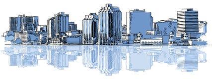 Halifax horisont Royaltyfri Fotografi