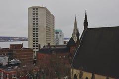 Halifax horisont arkivfoto
