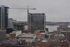 Halifax horisont royaltyfria bilder