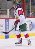 Halifax Moosehead Nathan MacKinnon. Halifax Mooseheads Nathan MacKinnon skates off the ice after a game vs the PEI Rocket. Nathan is expected to follow Sidney Royalty Free Stock Photography