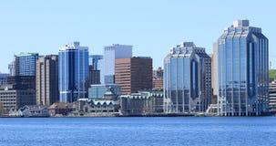 Halifax Nova Scotia centrum på en härlig dag arkivbild