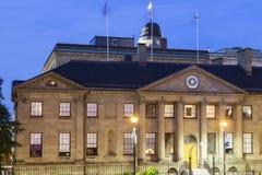Halifax Nova Scotia Legislature - landskaphus royaltyfri fotografi