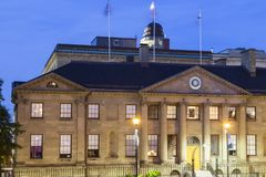 Halifax Nova Scotia Legislature - Provinz-Haus lizenzfreie stockfotografie