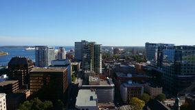 Halifax Nova scotia. Medium size Canadian city in the east coast royalty free stock images