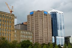 Halifax, nowa Scotia budynki Fotografia Royalty Free