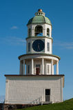 Halifax NS Old Town Clock. The old town clock in Halifax NS on Citadel Hill Stock Photo