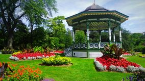 Halifax Public Gardens in Halifax, Nova, Scotia. Halifax Public Gardens, August 2017 Royalty Free Stock Image