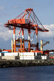 Halifax Shipping Crane. Halifax, Nova Scotia, Canada Royalty Free Stock Images